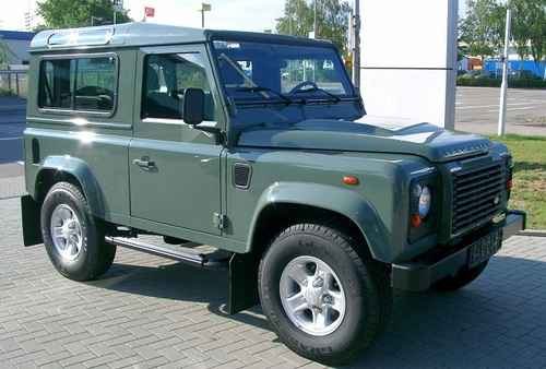 Thumbnail Land Rover Defender 90 North American Spec Manual Collection